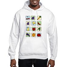 Food Squares Hoodie