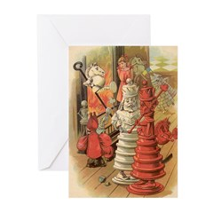 The King & Queen Greeting Cards (Pk of 10)