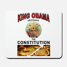 KING BARACK Mousepad