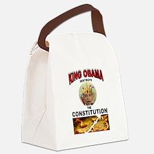 KING BARACK Canvas Lunch Bag