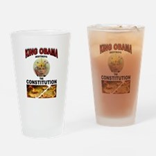 KING BARACK Drinking Glass