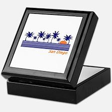 Unique San diego Keepsake Box
