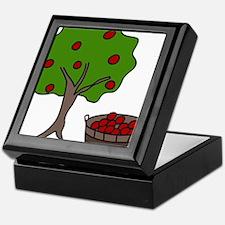Apple Tree Keepsake Box