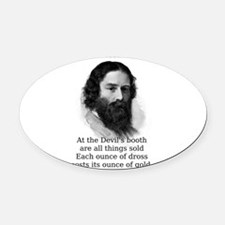 At The Devil's Booth - James Russell Lowell Ov