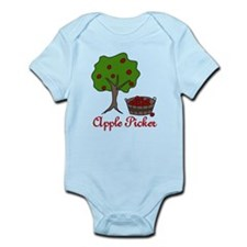 Apple Picker Infant Bodysuit