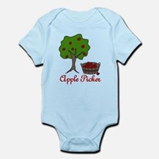 Apple Picker Infant Bodysuit