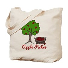 Apple Picker Tote Bag