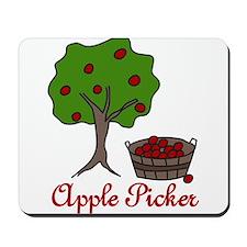 Apple Picker Mousepad