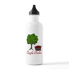 Apple Picker Water Bottle