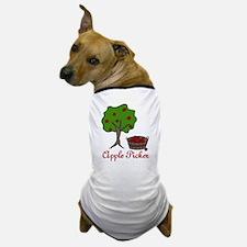 Apple Picker Dog T-Shirt