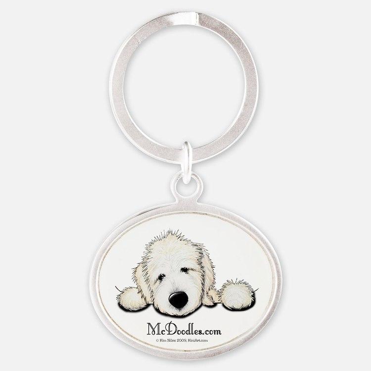 McDoodles Logo Oval Keychain