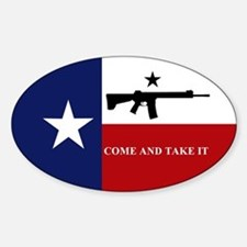 Come and Take It Sticker (Oval)