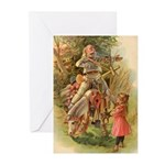 The White Knight Greeting Cards (Pk of 10)