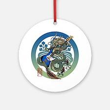 Dragon Bass 04 Ornament (Round)
