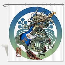 Dragon Bass 04 Shower Curtain