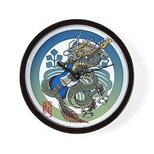 Dragon Bass 04 Wall Clock