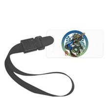 Dragon Bass 04 Luggage Tag
