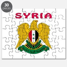 Syria Coat of arms Puzzle