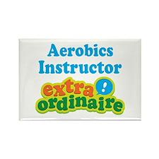 Aerobics Instructor Extraordinaire Rectangle Magne
