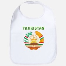Tajikistan Coat of arms Bib