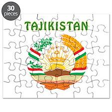 Tajikistan Coat of arms Puzzle