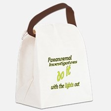 Paranormal Investigators Do It Canvas Lunch Bag