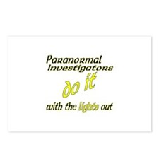 Paranormal Investigators Do It Postcards (Package