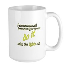 Paranormal Investigators Do It Mug