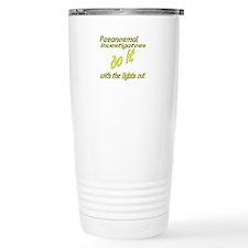 Paranormal Investigators Do It Travel Mug