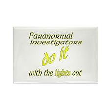 Paranormal Investigators Do It Rectangle Magnet