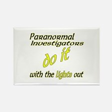 Paranormal Investigators Do It Rectangle Magnet
