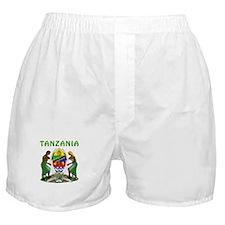 Tanzania Coat of arms Boxer Shorts