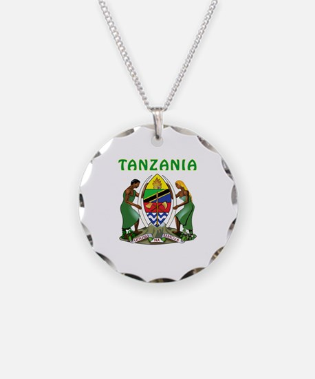 Tanzania Coat of arms Necklace