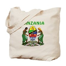 Tanzania Coat of arms Tote Bag