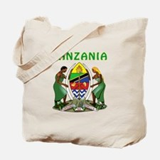 Tanzania Coat of arms Tote Bag