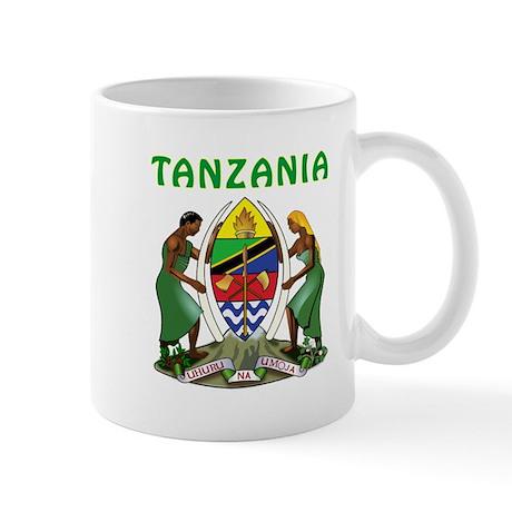 Tanzania Coat of arms Mug