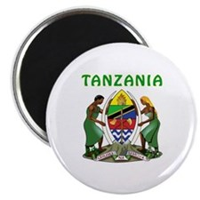 Tanzania Coat of arms Magnet