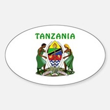 Tanzania Coat of arms Decal