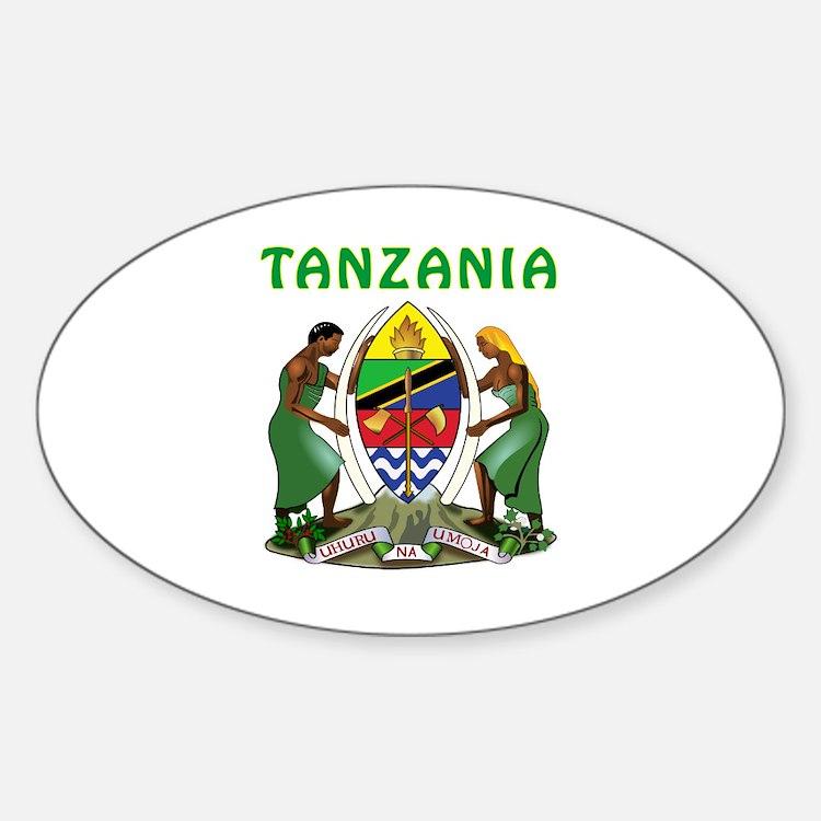 Tanzania Coat of arms Decal