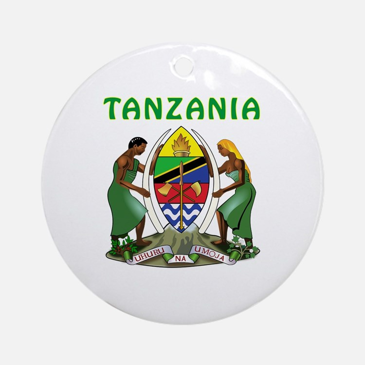 Tanzania Coat of arms Ornament (Round)