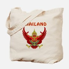 Thailand Coat of arms Tote Bag