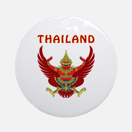 Thailand Coat of arms Ornament (Round)