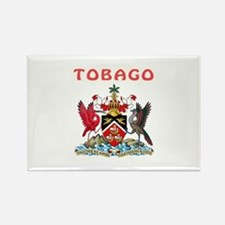 Tobago Coat of arms Rectangle Magnet