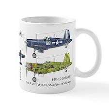 F4U Corsair USS Intrepid CV-11 Mug