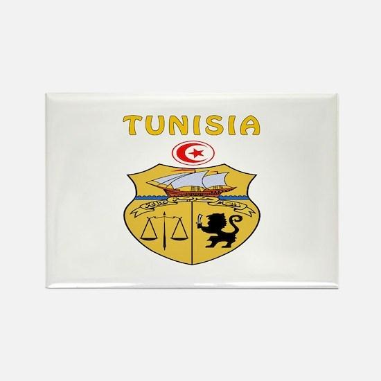 Tunisia Coat of arms Rectangle Magnet