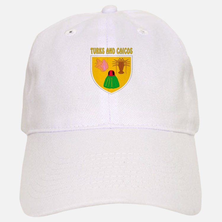 Turks and Caicos Coat of arms Baseball Baseball Cap