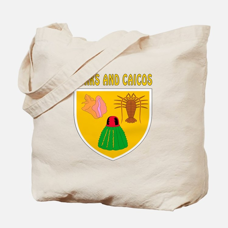 Turks and Caicos Coat of arms Tote Bag