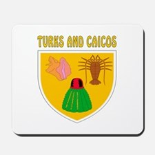 Turks and Caicos Coat of arms Mousepad