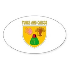 Turks and Caicos Coat of arms Decal