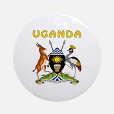 Uganda Coat of arms Ornament (Round)